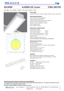 AGL5036W ALGEBRA LED_incasso 5100lm 36W IP40