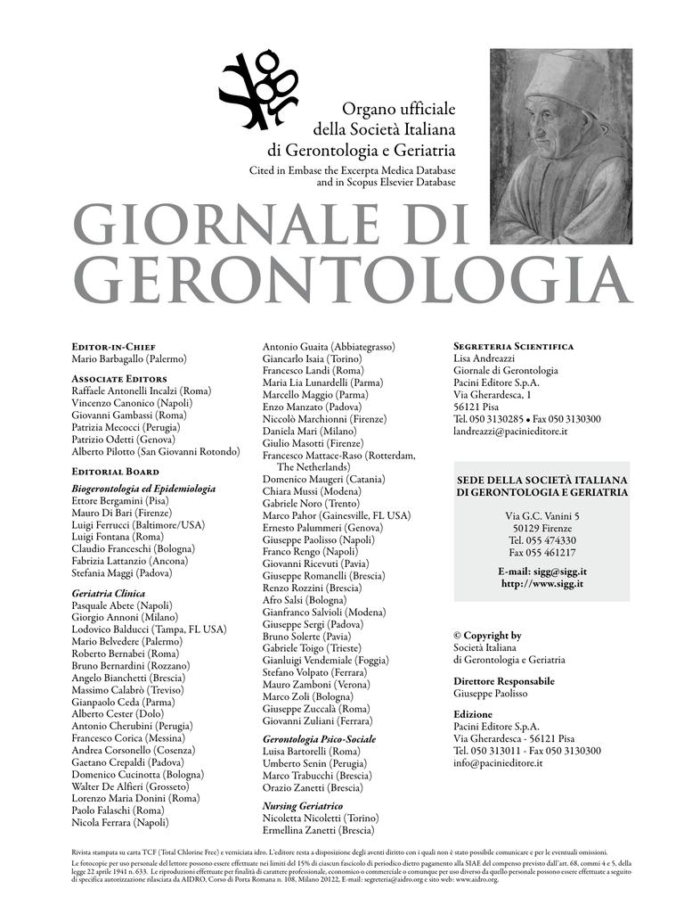 Sito di incontri geriatrica