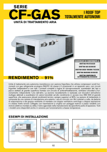i roof top totalmente autonomi serie rendimento