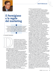 Il Parmigiano e le regole del marketing