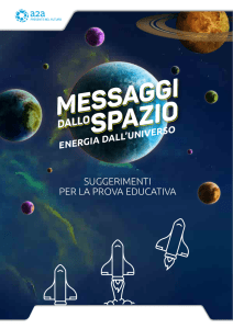 suggerimenti per la prova educativa