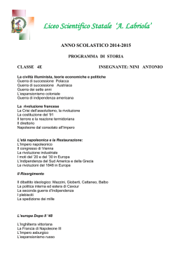 Liceo Scientifico Statale `A. Labriola`