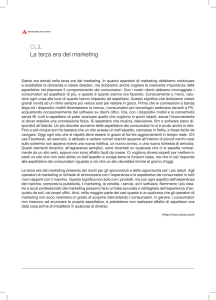 CLIL La terza era del marketing - Campus