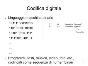 Codifica digitale