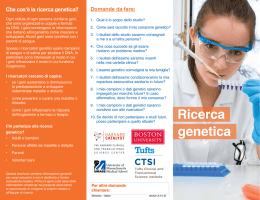 Ricerca genetica - Harvard Catalyst