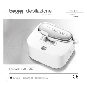 depilazione - Beurer medical