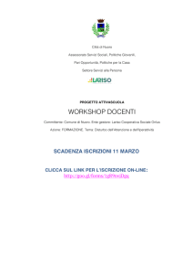 workshop docenti