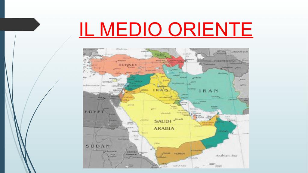 Cartina Europa E Medio Oriente.Il Medio Oriente Istituto Comprensivo Statale 1