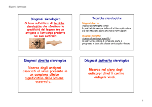 Med Lab 2016-2017 diagnosi sierologica