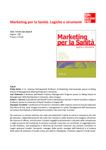Nota su Volume Marketing per la Sanità (Turchetti)