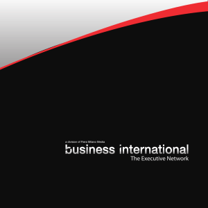 Brochure - Business International