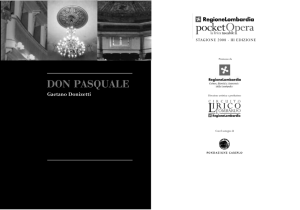 don pasquale - Pocket Opera