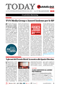 TVN Media Group e Assorel insieme per le RP