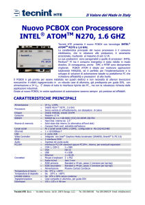 Nuovo PCBOX con Processore INTEL ATOM N270, 1.6 GHZ