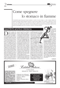 Pag. 2 - Come spegnere lo stomaco in fiamme