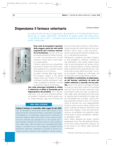 Dispensiamo il farmaco veterinario