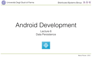 Android Development Lecture 5