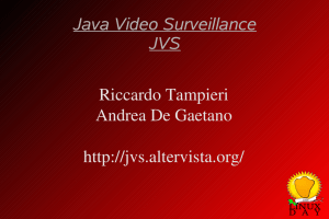 Java Video Surveillance JVS
