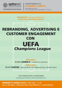 REBRANDING, ADVERTISING E CUSTOMER