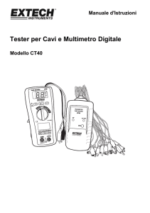 Tester per Cavi e Multimetro Digitale