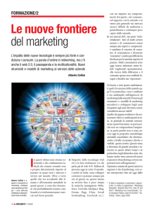 Le nuove frontiere del marketing