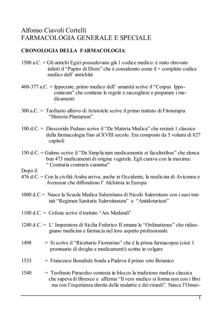 Alfonso Ciavoli Cortelli FARMACOLOGIA GENERALE E 76a51ad3464a