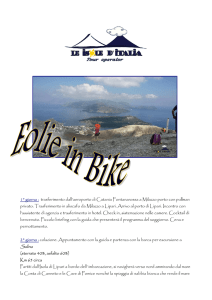 Eolie in bike