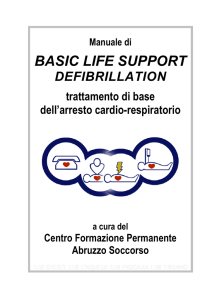 basic life support - Croce Bianca Teramo