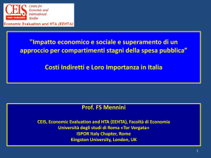 Intervento di Francesco Saverio Mennini