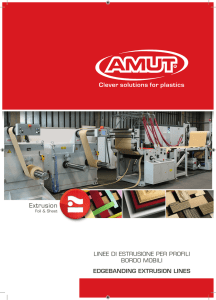 Extrusion - AMUT Spa