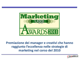 Marketing Awards