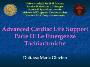 Advanced Cardiac Life Support Parte II: Le Emergenze