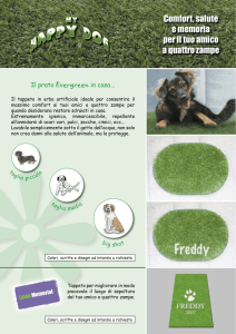 HAPPY DOG-scheda.indd - Evergreentown Italia srl