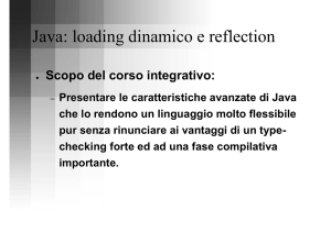 Java: loading dinamico e reflection