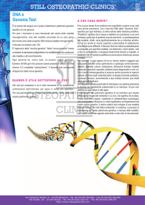DNA o Genoma Test - Still Osteopathic Clinics