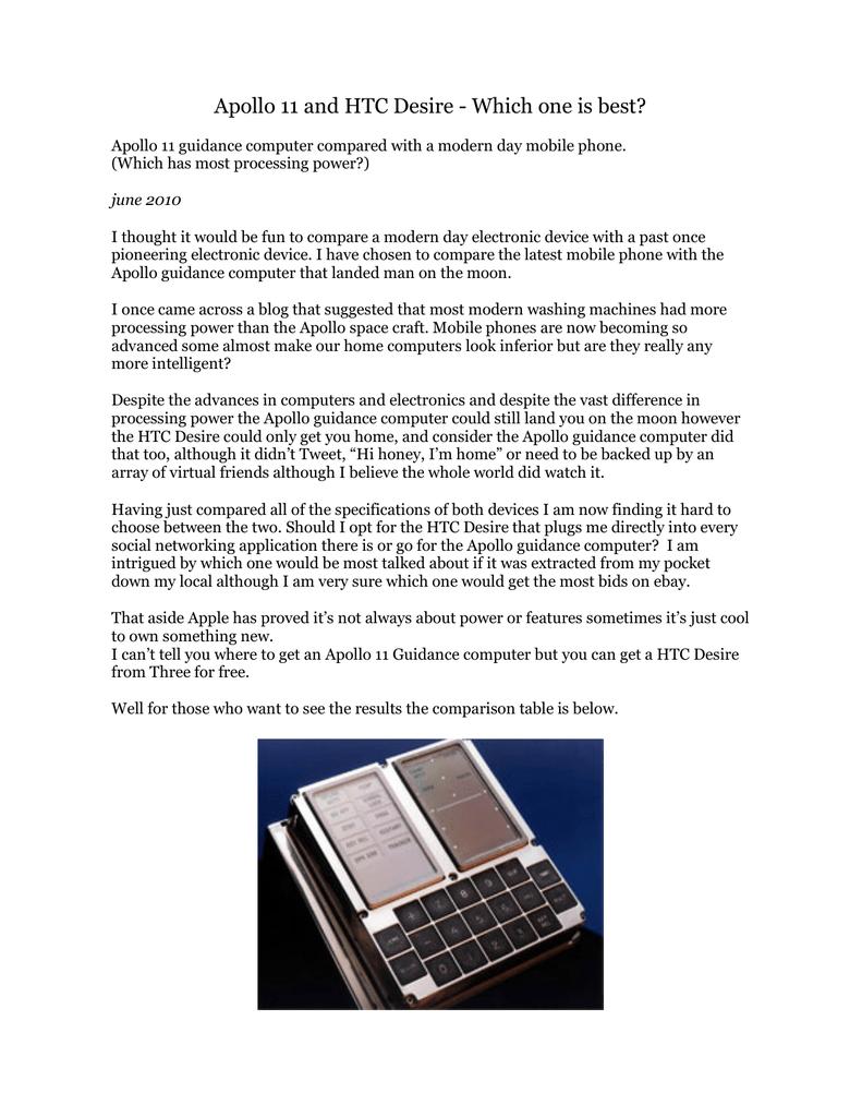 Pc Apollo 11 The Guidance Computer