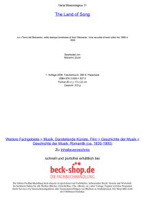 The Land of Song - ReadingSample - Beck-Shop