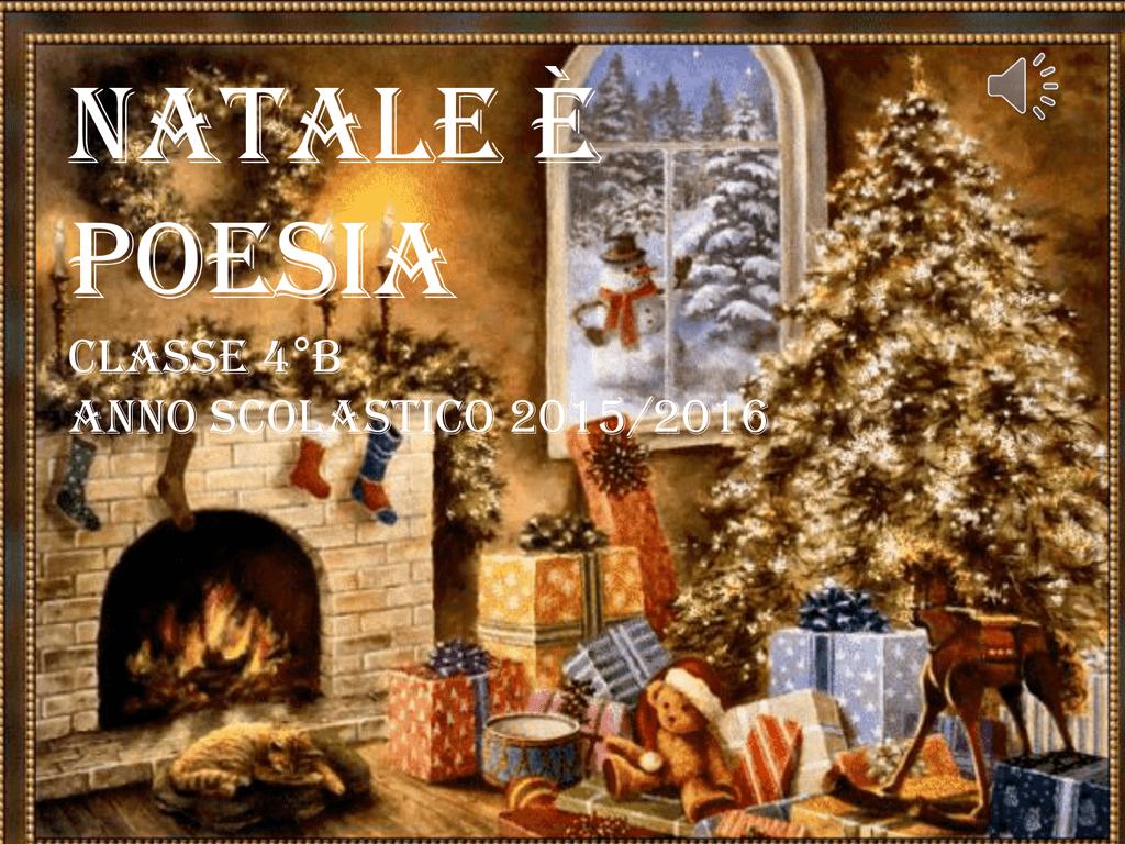 Poesie Di Natale In Rima Baciata.Natale E Poesia