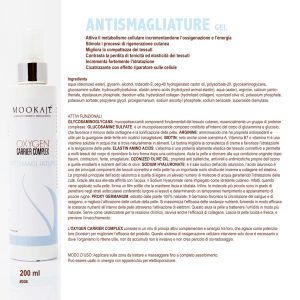 ANTISMAGLIATURE GEL