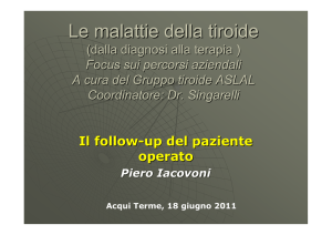 follow up P.Iacovoni - Dr. Salvatore Singarelli