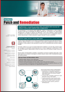 Brochure Soluzione Patch and Remediation