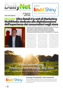 Mercato ultra retail è la unit di Marketing MultiMedia dedicata alla