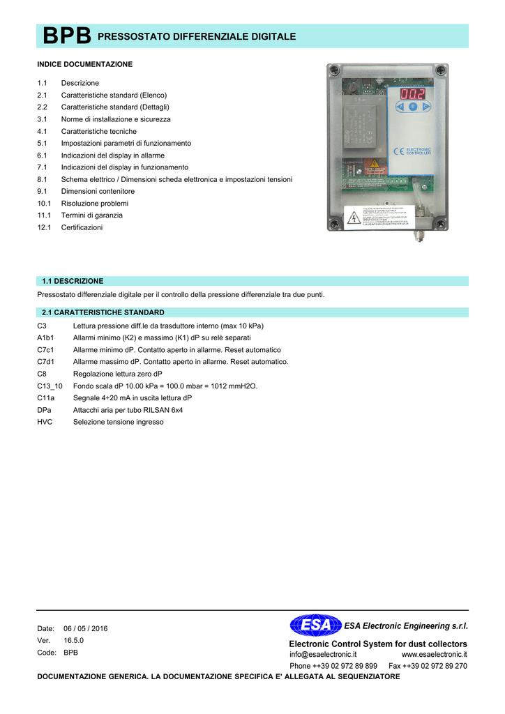 SV 600 - FEM - AP Attuatore per dimmer, a parete.