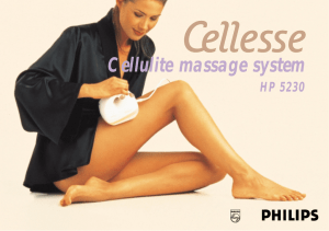 Cellulite massage system