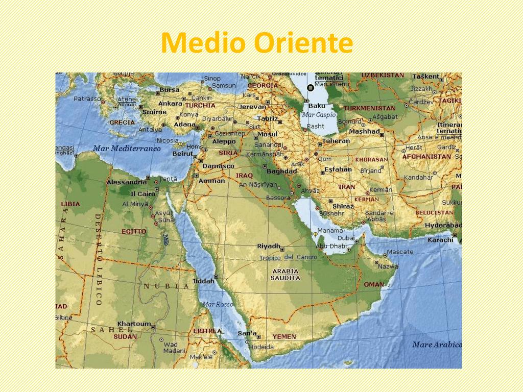 Medio Oriente Cartina Fisica.Medio Oriente Dame Inglesi