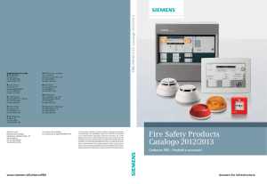 Fire Safety Products Catalogo 2012/2013