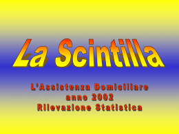 Statistica Cure Palliative 2002