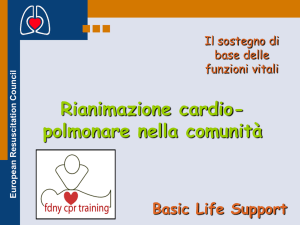 European Resuscitation Council Basic Life Support