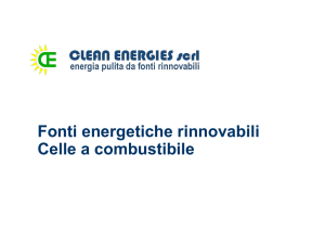 Celle a combustibile - Clean Energies scrl