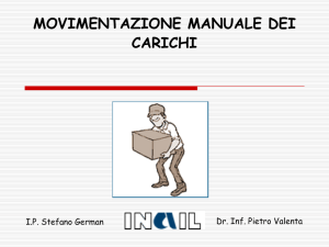 M4 Movimentazione carichi ultimo - Materiale